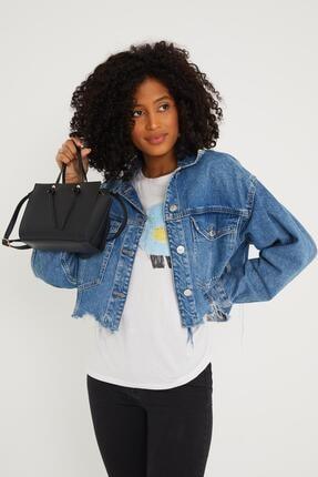 Çantacımstore Kadın Siyah El Ve Omuz Çantası 1