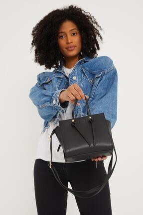 Çantacımstore Kadın Siyah El Ve Omuz Çantası 2
