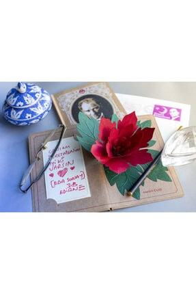 Kağıtistan Atatürk Çiçeği 3d Popup Hediye Karpostal Ve Zarfı 2