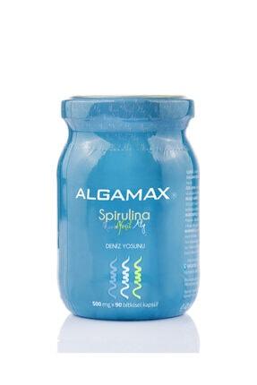 ALGAMAX Spirulina Kapsül 90 Adet X 500 Mg 0