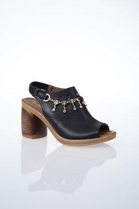Pierre Cardin PC-6077 Siyah Kadın Sandalet 1