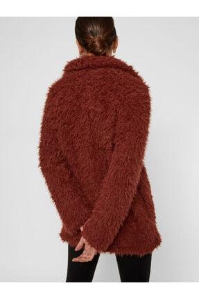 Vero Moda Kadın Kızıl Kahverengi Suni Kürk 10217012 VMJAYLAMEG 10217012 2