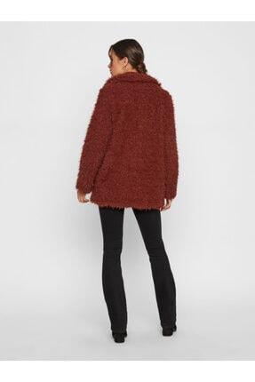 Vero Moda Kadın Kızıl Kahverengi Suni Kürk 10217012 VMJAYLAMEG 10217012 3
