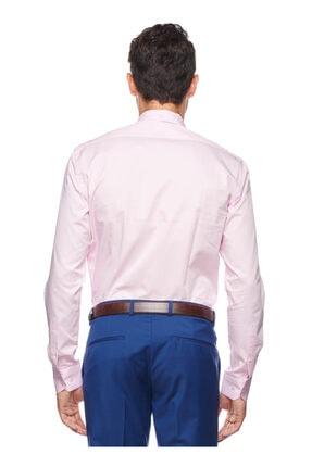 Altınyıldız Classics Erkek Pembe Tailored Slim Fit Desenli Gömlek 4R2017101109 3