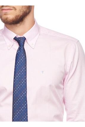 Altınyıldız Classics Erkek Pembe Tailored Slim Fit Desenli Gömlek 4R2017101109 4