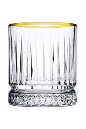 Paşabahçe Meşrubat Bardağı Elysıa Yaldızlı 4 Parça 1