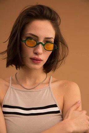 Bilge Karga Baraque Green Yellow Güneş Gözlüğü 0