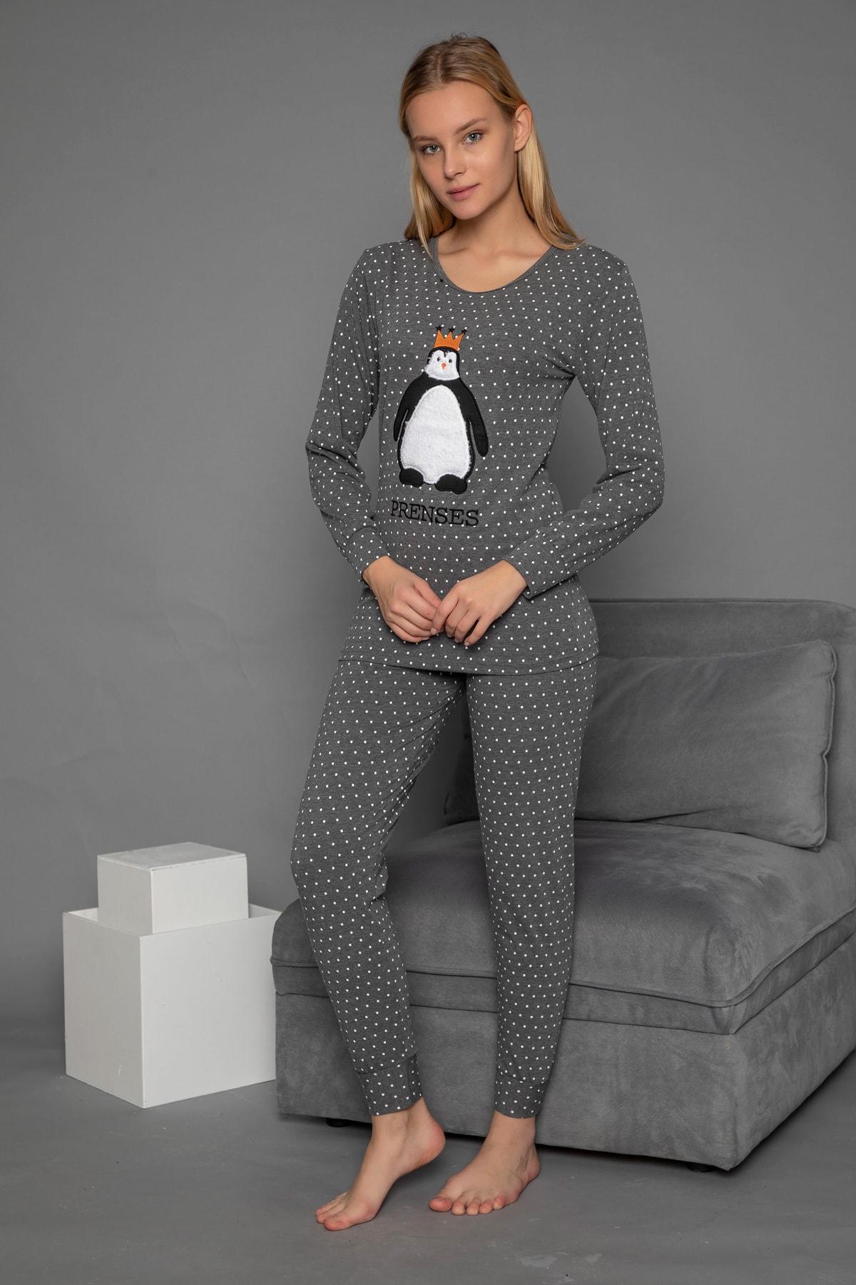 Strawberry Kadın Füme  Pijama Takim 2