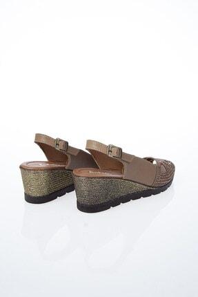 Pierre Cardin PC-6036 Vizon Kadın Sandalet 3