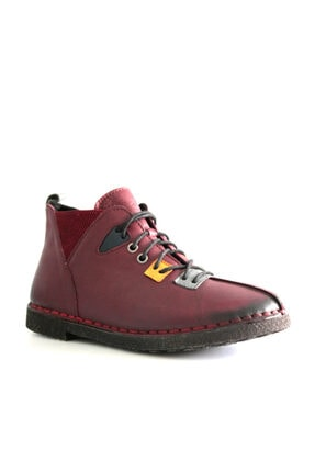 Beta Shoes Kadın Bordo Bot 22-ca08-008 0