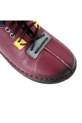 Beta Shoes Kadın Bordo Bot 22-ca08-008 3