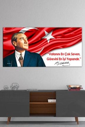Nazenin Design Atatürk Makam Panosu Tablosu Kanvas Tablo 1