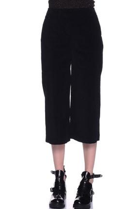 LİMON COMPANY Kadın Siyah Bol Paça Pantolon 501961367 1