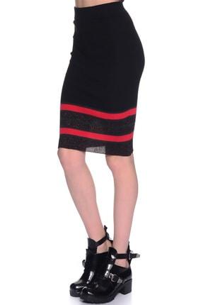 LİMON COMPANY Kadın Siyah Kalem Etek 501961484 2