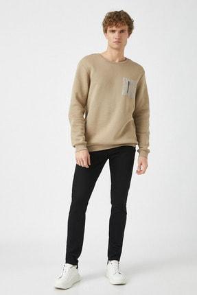 Koton Erkek Siyah Jeans 1KAM43002LD 0