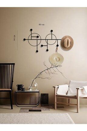 Archtwain Pipe Metal Dekoratif Duvar Askısı | Tasarım Ev Aksesuarı 3