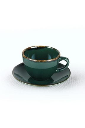 Keramika Zümrüt Çay Takımı 12 Parça 6 Kişilik 4