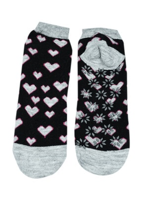 NZR GROUP Kadın Termal Çorap Poffy Kaydırmaz Tabanlı 0