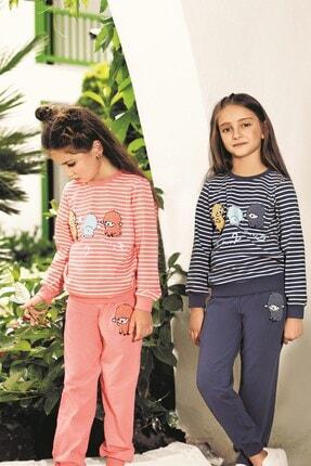 Lohusa Sepeti Kız Çocuk Uykucu Pijama Takımı - 3-9 Yaş - 0012 0