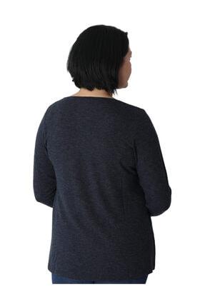 Günay Giyim Kadın Lacivert Bluz 3
