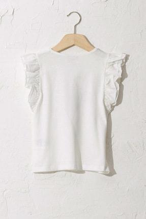 LC Waikiki Kadın Ekru T-Shirt S16097Z4 1