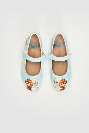 LC Waikiki Frozen Kız Çocuk Açık Mavi Cu5 Babet 2