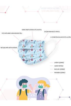 YUSUF MEDİCAL Cerrahi Meltblown Erkek Çocuk Maskesi 10 Farklı Desen 100 Adet (uts Kayıtlı) 3