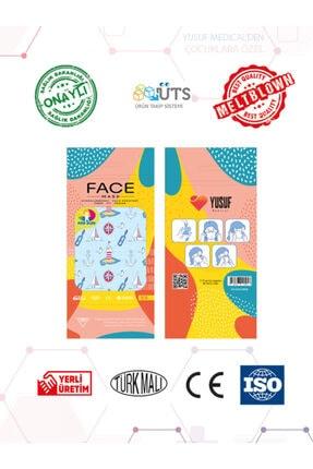 YUSUF MEDİCAL Cerrahi Meltblown Erkek Çocuk Maskesi 10 Farklı Desen 100 Adet (uts Kayıtlı) 4