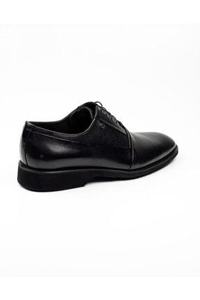 MARCOMEN Erkek Siyah Deri Klasik Ayakkabı .40 12229 3