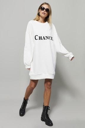 تصویر از پیراهن زنانه سفید