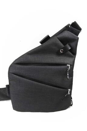 Newish Unisex Siyah Çapraz Celart Tablet Çanta 0
