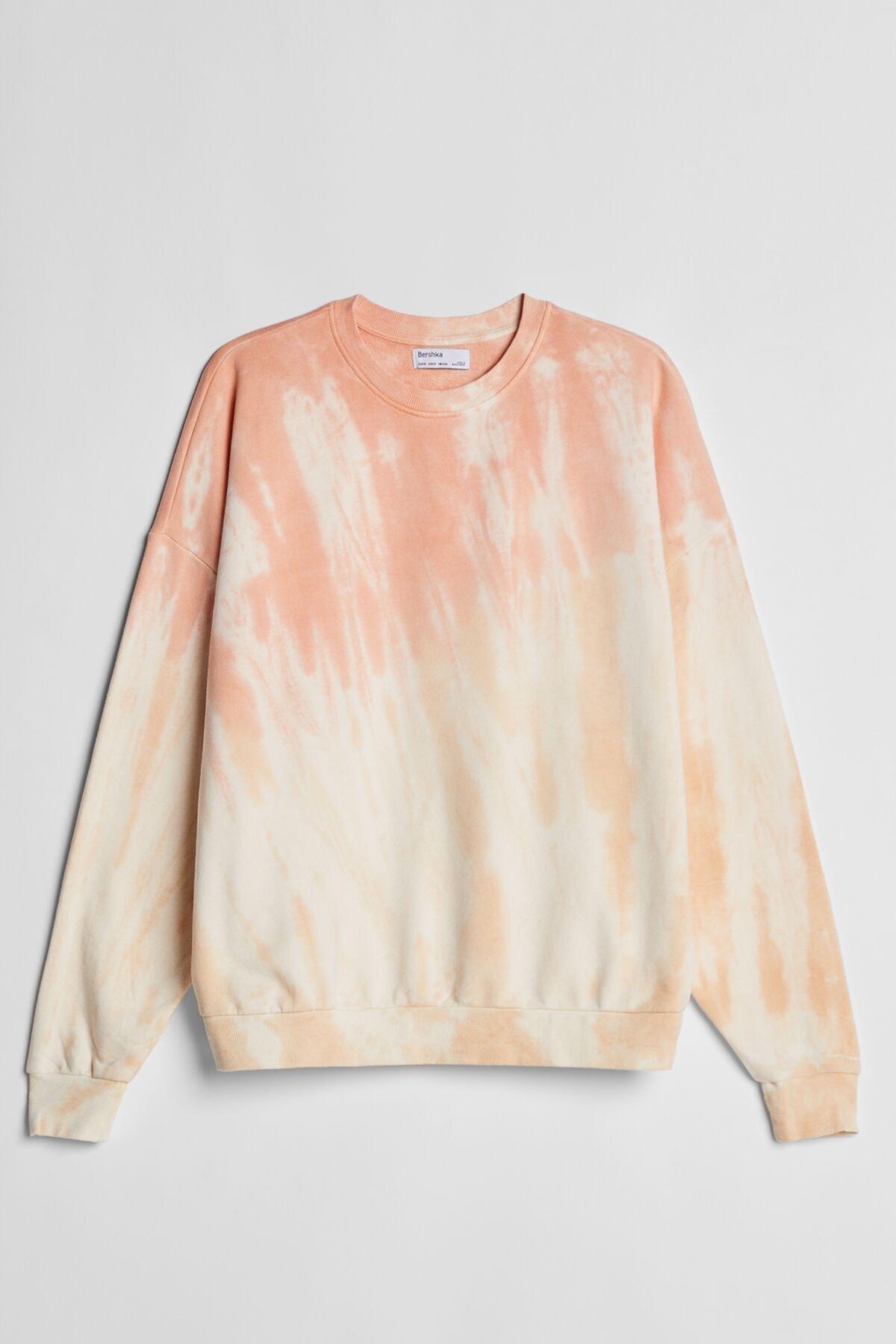 Bershka Batik Desenli Sweatshirt