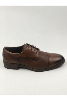 MARCOMEN Hakiki Deri Baskılı Erkek Klasik Rahat Taban Ayakkabı 3