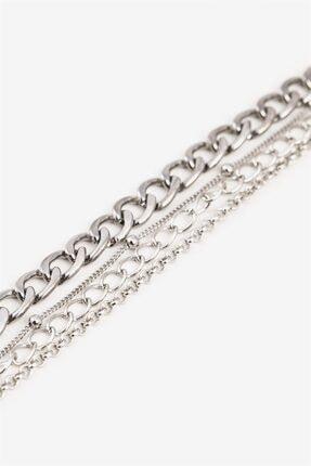Sortie Aksesuar Kadın Gümüş Kombin Bileklik 003 2