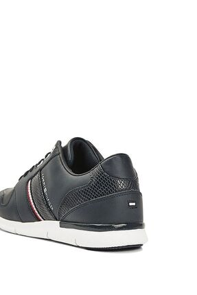 Tommy Hilfiger Kadın Lacivert Corporate Lightweight Sneaker Fw0fw05244 2