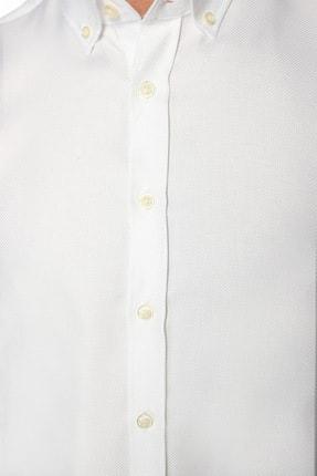 Network Erkek Beyaz Non Iron Beyaz Desenli Gömlek 1075280 3