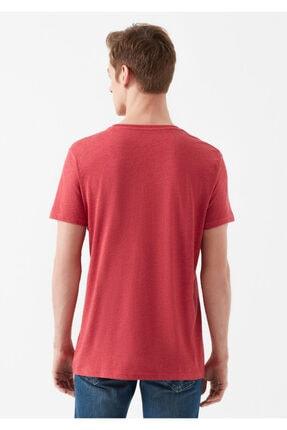 Mavi Rest Of My Life Baskılı Kırmızı Istanbul Tişört 3
