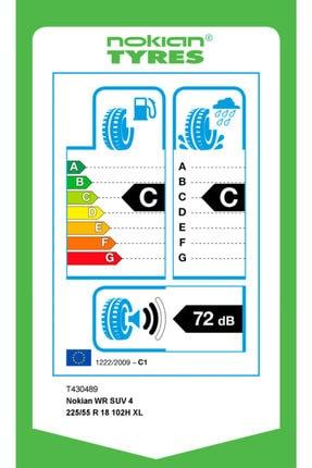 Nokian Wr Suv 4 225/55 R18 102h Kış Lastiği 2020 Üretimi 1