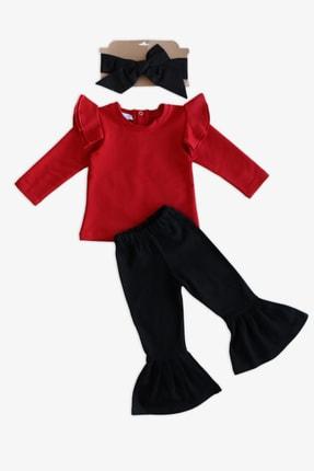 Parla Kids Kız Bebek Kırmızı Coco Ispanyol Takım 0