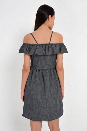 Cotton Mood 9201581 Bodrum Madonna Yaka Askılı Elbise 1