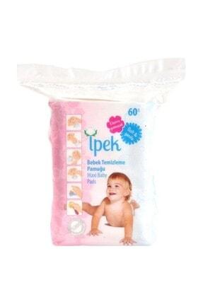 İpek Maxi Bebek Temizleme Pamuğu 60'lı 30paket 1