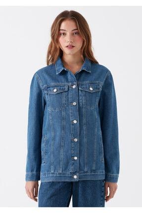 Mavi Kadın Jill Indigo Jean Ceket 110081-28173 3