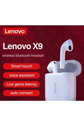 LENOVO X9 Gerçek Kablosuz Bluetothtelefon Kulaklığı Dokunmatikkontrol Dinamikhıfı Stereosporkulaklık 4