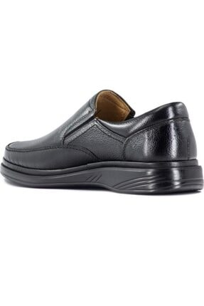 GÜRCAN Erkek Sşyah Ekinci Hakiki Deri Siyah Günlük Ayakkabı 2
