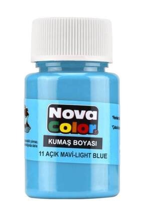 nova color Kumaş Boyası 12 Renk x 30 ml. Set 3