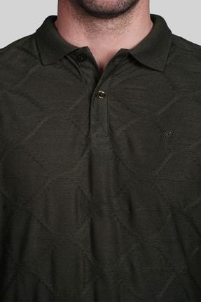 İgs Erkek Haki Slim Fit Polo Yaka T-shirt 1