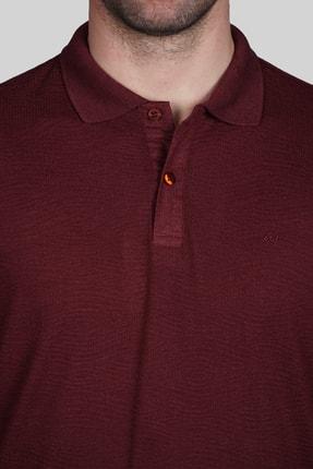 İgs Erkek Bordo Slim Fit Polo Yaka T-shirt 3