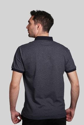 İgs Erkek Lacivert Slim Fit Polo Yaka T-shirt 2