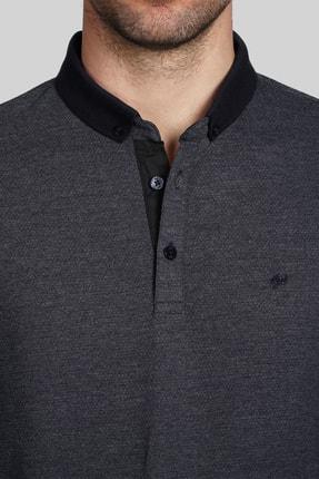 İgs Erkek Lacivert Slim Fit Polo Yaka T-shirt 3