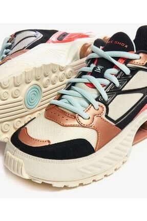 Nike Kadın Kırmızı Siyah Shox Enigma 9000 Spor Ayakkabısı Ct3451-100 1
